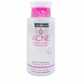 Harga Dr.Somchai ACNE Double Micellar Cleansing Water