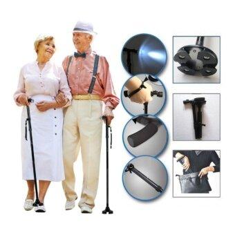 EGB Magic Cane ไม้เท้าช่วยเดิน ไม้ช่วยพยุงเดิน พับได้ Trusty Caneผู้สูงอายุ อุปกรณ์ช่วยการเดิน