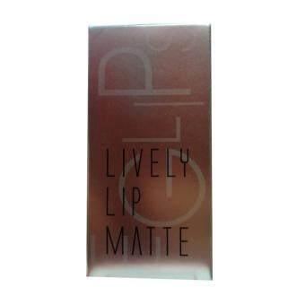 Eglips Lively Lip Matte ลิปสติกเนื้อแมทท์ 5g #LM005 Pretty Nudy Matte