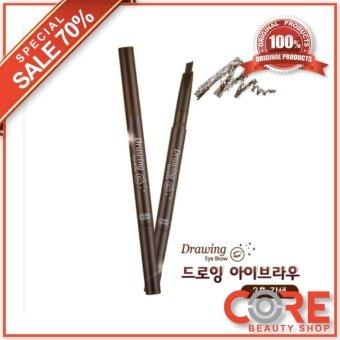 อยากขาย Etude Houseดินสอเขียนคิ้วDrawing Eye Brow Duo #No.3 Brown(ของแท้100%)