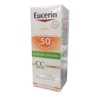 Eucerin Sun CC Cream SPF50+ PA++++ 50ml. ยูเซอริน ซัน ซีซี ครีม เอสพีเอฟ 50+ (50 มล.)(1ขวด)