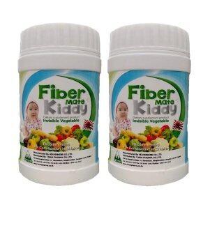 ขาย Fiber Mate Kiddy ท้องผูกจะหายไป ปลอดภัยตั้งแต่แรกเกิด ไฟเบอร์เมทคิดดี้ 60 กรัม (2 ขวด)