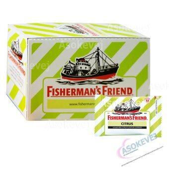 Fisherman's Friend Sugar Free Citrus Flavour Lozenges 25g (1กล่อง)