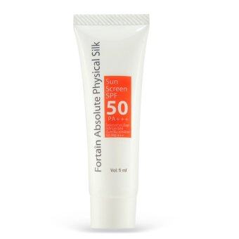 Fortain Absolute Physical Silk Sunscreen SPF50 PA+++ 5ml