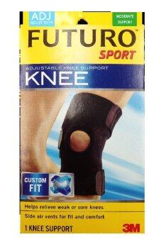 Futuro Sport Adjustable Knee อุปกรณ์พยุงเข่า ฟูทูโร่ ชนิดปรับกระชับได้ รุ่น 09039