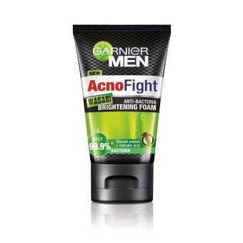 GARNIER Men AcnoFight Wasabi Brightening Foam 100ml