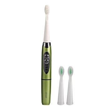 เปรียบเทียบราคา GETEK Waterproof Sonic Electric Toothbrush with 2 ExtraHeads(Green) - intl