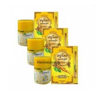 Ginseng Herbal Soap & Toner สบู่+โทนเนอร์ โสมคุณหญิงเผยผิวกระจ่างใส (3เซต 6ชิ้น)