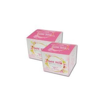 Gold Wink Sunscreen Cream ครีมกันแดดโกลด์วิ้งค์ SPF50PA+++ 2 กล่อง(7 กรัม/กล่อง)