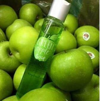 สบู่แอปเปิ้ลเขียวหน้าใส Green Apple Soap ลดสิวผดผื่นและสิวอักเสบ 120 ml.