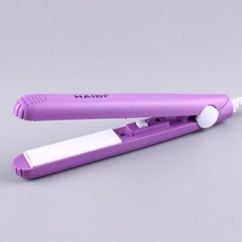 HAIDI เครื่องหนีบผมเคลือบเซรามิค Ceramic Hair Iron รุ่น HD-002 (purple)