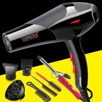 Hair dryer negative ion high power household blower 3000 Watt mute hot air dormitory hair salon hair dryer - net2400 professional wind buy a send six plus hair curler - intl