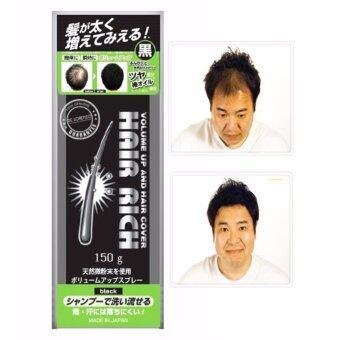 Hair Rich Spray สเปรย์ผมดก สเปรย์เพิ่มผมหนา สเปรย์ฉีดผมหนา Volume Up Hair Spray (สีดำ)