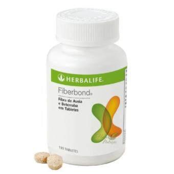 Herbalife Fiber Bond ไฟเบอร์ บอนด์ ใยอาหารธรรมชาติ ช่วยดักจับไขมัน และสารพิษ 96กรัม 180เม็ด/1กระปุก