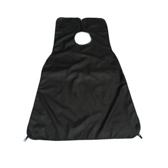 High Quality Wai Cloth For Men'S Facial Beard Shaving The Barber Scarf Bib Apron Black - intl