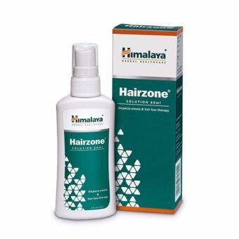 สเปรย์ป้องกันผมร่วง Himalaya Hairzone Solution 60 ml.