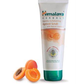 Himalaya Herbals Gentle Exfoliating Apricot Scrub 100gm. สำหรับผิวแห้ง