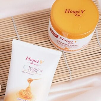 Honei v bsc Cleansing Cream แบบกระปุก - 4