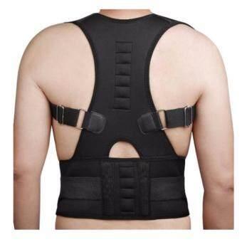 ราคา ideecraft back brace posture เสื้อพยุงหลัง เสริมหลังตรง (สีดำ) size S