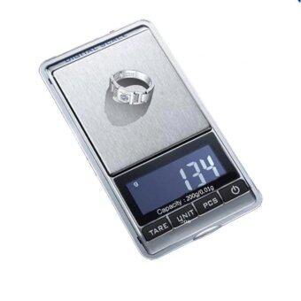 iremax เครื่องชั่งดิจิตอล Mini Digital Jewelry Pocket GRAM (200g-0.01) - Rubber Black