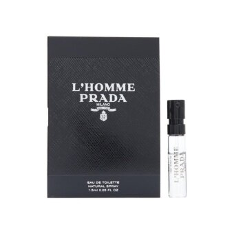 Harga Prada L Homme Prada Eau de Toilette for Men 1.5ml (1ชิ้น)