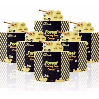 B'Secret FOREST HONEY BEE CREAM 100% Original Product By VIP Agent ครีมน้ำผึ้งป่าของแท้ 100% จำหน่ายโดยตัวแทน VIP (6 กระปุก)