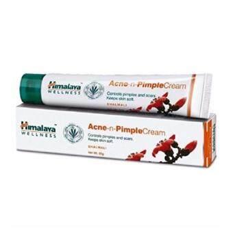Himalaya Herbals Acne-n-Pimple Cream, 20g. ครีมแต้มสิวอักเสบสิวผด