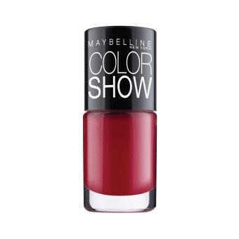 Harga Maybelline Color Show Nail น้ำยาทาเล็บ (สี 215 Keep Up the Flame)