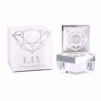 LIV White Diamond Cream ลิฟ ไวท์ ไดมอนด์ ครีม ครีมดีที่วิกกี้แนะนำ บำรุงผิวหน้าเนื้อครีมเข้มข้น 30g. (1 กล่อง)