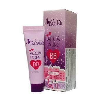 Babalah Aqua Pore BB บาบาร่า บีบีครีม SPF37 PA+++ 10g. บีบีสูตรน้ำ ผสมไพรเมอร์ คุมมัน กันแดด (1 หลอด)