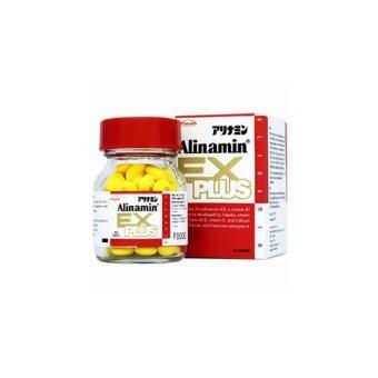 Alinamin Ex Plus อะลินามิน เอ็กซ์ พลัส 60 เม็ด