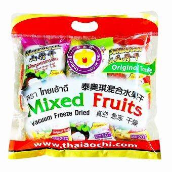 Thai Ao Chi Mixed Fruits Vacuum Freeze Dried ผลไม้รวมอบกรอบ ขนาด 210 กรัม