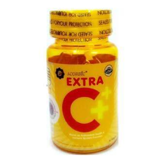 Acorbic Extra C+ Acorbic Softgel เอ็กซ์ตร้า ซี 1 กระปุก