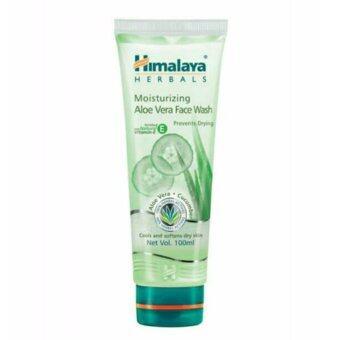 Himalaya Aloe vera Face Wash 100ml.เจลล้างหน้าสำหรับผิวแห้ง