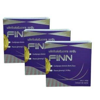 FINN อาหารเสริมเสริมสมรรถภาพเพศชาย 4 เม็ด /กล่อง จำนวน 3 กล่อง