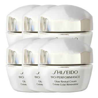 Shiseido Bio-Performance Glow Revival Cream ครีมบำรุงผิวสูตรเข้มข้น 10ml (6 กระปุก)
