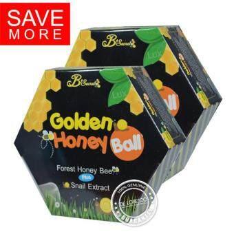 B'Secret Golden Honey Ball มาส์กหน้า มาส์กลูกผึ้ง บี ซีเคร็ท B Secret บีซีเคร็ท มาร์คหน้า มาร์คลูกผึ้ง (2 กล่อง)