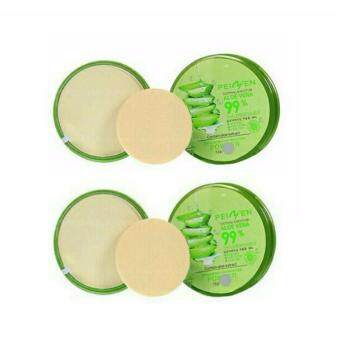 Harga Aloe Vera 99% Powder Peiyen Soothing And Moisture 12 g. (No.03)   แพค 2 ตลับ