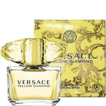 Versace Yellow Diamond For Women EDT 90ml. (พร้อมกล่อง)