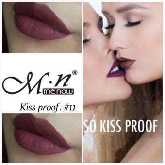 #No.11 คิสพรูฟ+กบเหลา Menow Kissproof Soft lipstick 4.2g.