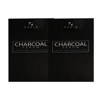 CHARCOAL SERUM BY PARIN ชาโคล เซรั่มบำรุงผมชนิดล้างออก 15ml (2 กล่อง)