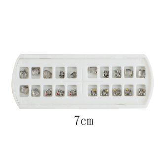 ใหม่โดยทันตแพทย์ทันตแพทย์ทันตกรรมจัดฟันในกุมารมาตรฐานการคัดเลือกนักแสดงวงเล็บ MBT 022 ไม่มีตะขอ-20ชิ้น/แพ็ค