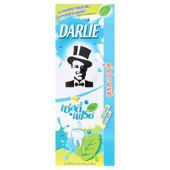 DARLIE ดาร์ลี่ ยาสีฟันเซสตี้ เฟรช มินต์ 140 กรัม (แพ็คคู่)