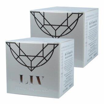 LIV White Diamond Skin ลิฟ ไวท์ ไดมอนด์ ครีมวิกกี้ สุนิสา ขนาด 30 กรัม ( 2 กระปุก)