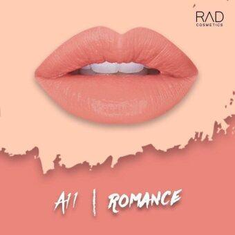 ของแท้ ลิปน้ำชา RAD Cosmetics สี Romance : A11 RAD Matte Liquid Lipstick