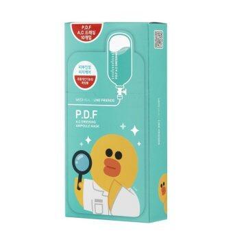 MediHeal มาร์คบำรุงผิวหน้า P.D.F. A.C dressing ampoule mask (รุ่น limited edition line friends)