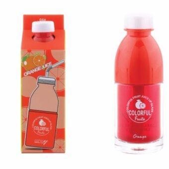 Ashley ลิปทินต์น้ำผลไม้ หอมหวานเนื้อบางเบา Fruit Juice Lip Glaze #04 Orange