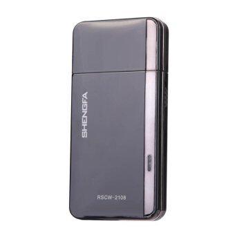 220โวลต์ RSCW-2108 ไฟฟ้าตอบแทน...ประเภทมีดโกนโกนหนวดเคราสีดำ