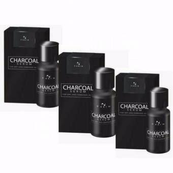 CHARCOAL SERUM ชาโคล เซรั่ม ดูแลทุกปัญหาผม ครบในขวดเดียว ปริมาณสุทธิ 15 มล. (3 กล่อง)