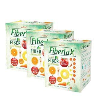 Verena Fiberlax ไฟเบอร์แล็กซ์ ดีท๊อกส์ลดน้ำหนัก (3 กล่อง)